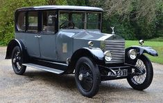 1923 Rolls Royce 20hp saloon by Vincent of Reading. 46,000