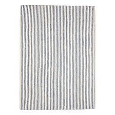 Pencil Stripe Rug – Chambray   Serena & Lily