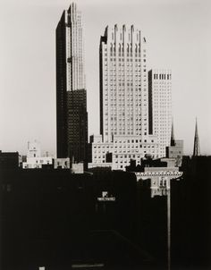 Alfred Stieglitz: New York from the Shelton 1935