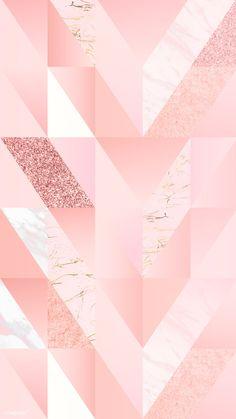 ideas wallpaper iphone art design inspiration for 2019 Geometric Wallpaper Iphone, Rose Gold Wallpaper, Iphone Wallpaper, Disney Wallpaper, Cute Patterns Wallpaper, Cute Wallpaper Backgrounds, Cool Wallpaper, Backgrounds Girly, Wallpaper Quotes