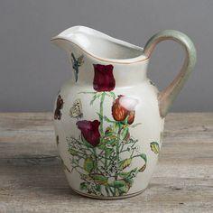 garden butterfly jug by the flower studio | notonthehighstreet.com