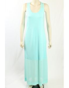 Perfect Maxi Dress for Summer. The dress has sheer fabric at the top and bottom of the dress and is lined. Sheer Fabrics, Designer Dresses, Tommy Hilfiger, Casual Dresses, Calvin Klein, Seasons, Summer, Clothes, Collection