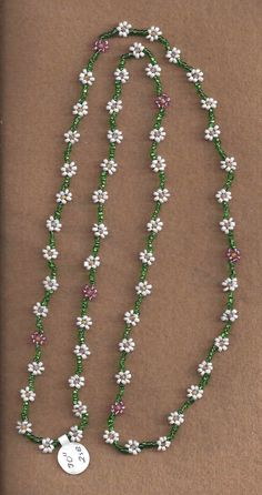 MTO Daisy Chain Necklace by SnowRabbitDesigns on Etsy