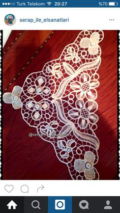 Romanian Lace, Point Lace, Needle Lace, Lace Making, Hand Embroidery, Cross Stitch Patterns, Diy And Crafts, Projects To Try, Tulle