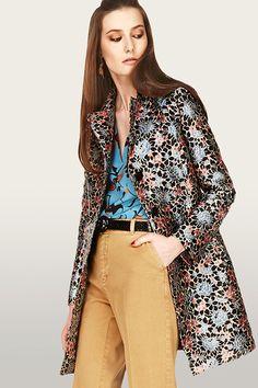 エトロ16年プレフォール - ピカソ風フェイスのシューズやマティスの様な花柄ブラウスなど - 写真3   ファッションニュース - ファッションプレス
