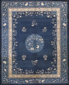 Stock Id: #17630General Rug Type: Chinese Specific Rug Type: Chinese - Peking Circa: 1890 Color: Blue Origin: China Width: 9' 2'' ( 279.4 cm ) Length: 11' 6'' ( 350.5 c