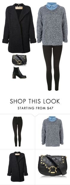 """""""Untitled #2058"""" by roby-2000 ❤ liked on Polyvore featuring Topshop, River Island, Burberry, Marc Jacobs and Miu Miu"""