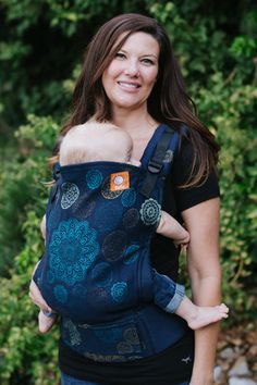 (Standard Size) Full Wrap Conversion Tula Baby Carrier - Natibaby Ornament Circles