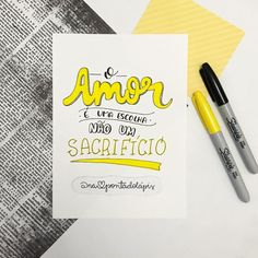 Bullet Journal 2020, Lettering Tutorial, Brush Pen, Wise Quotes, Typography, Study, Letters, Sayings, My Love