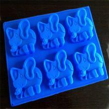 Handmade elephant shaped soap tray