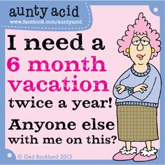 Great news folks! There's a HUGE 25% off our 2014 Aunty Acid calendar for FB fans who click this link http://www.amazon.com/gp/product/1423635000/ref=as_li_qf_sp_asin_il_tl?ie=UTF8=1789=9325=1423635000=as2=facebook05f16-20  And the 'LOOK INSIDE' feature has been added on AMAZON.com so you can now go and have a sneaky peek at some of the witty panels it features... Including this one!