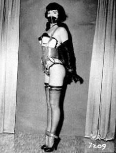 Betty bondage page photo