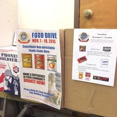 Don't forget to donate your canned foods! #FeedTheHungry #FoodDrive