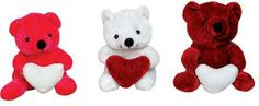 "4"" Happy Valentine's Day Bear with Heart Plush - 288 Units"