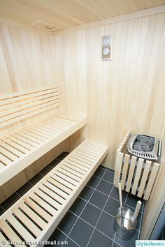 Steam Room Shower, Sauna Steam Room, Sauna Room, Saunas, Sauna Shower, Sauna Heater, Outdoor Sauna, Sauna Design, Interiores Design
