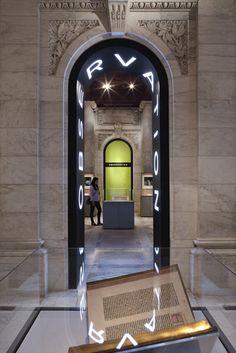 new york public library - pentagram