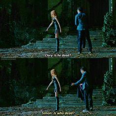 Season 1 Episode 1: Clary and Simon