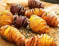 Hasselback Potatoes, Sushi, Foodies, Sausage, Meat, Baking, Ethnic Recipes, Om, Heaven