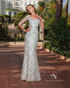 Vestidos de Fiesta, Vestidos de madrina, Vestidos para boda, Vestidos de Coctel 2016. Colección Primavera Verano Completa 2016. Sonia Peña - Ref. 1160128