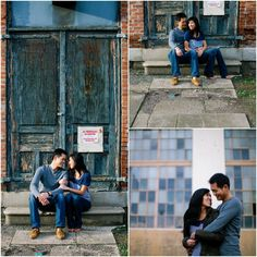 San Francisco Lover's Lane Engagement Photo Shoot