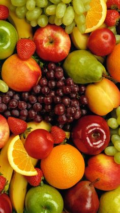 Did you know...you can make your fruits healthier by cleaning them with Saint Francis Organics Fruit & Veggie Cleaner.