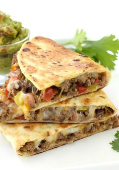 For the crispiest taco shell ever, try these Pan Fried Beef Tacos tonight!
