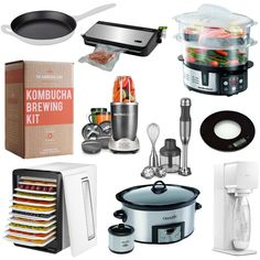 So, I know I have done a kitchen essentials post before…which is a great gift idea guide for someone who maybe just moved into a new apartment or home…but this list is filled with some extras that aren't necessarily essential…but still are friggen AWESOME. Most of these are on my wishlist, but a few I already …
