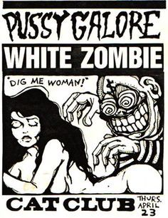 White Zombie on Pinterest | Rob Zombie, Music and Concert Posters