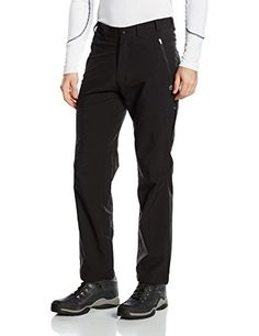 Craghoppers Mens Pro Lite Walking Softshell Trousers 42 Waist  31 Length Black >>> Be sure to check out this awesome product. (This is an affiliate link) #HikingClothing