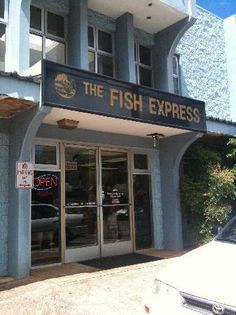 Fish Express in Lihue. popular with the locals. fresh and fast fish - get any of the poke!