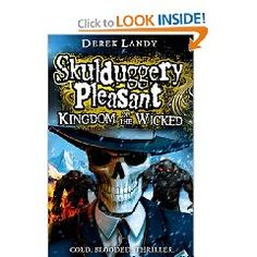 Skulduggery Pleasant: Kingdom of the Wicked by Derek Landy recommended by I.F.