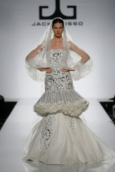 Jack Guisso haute couture wedding gown