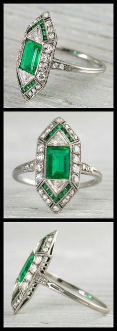 Ready for some pretty? Erstwhile Jewelry Co.'s latest selection of antique rings will make you glad you have 10 fingers.