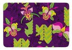 Orchids Festival by Yenty Jap Bath Mat