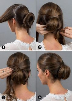What's the Difference Between a Bun and a Chignon? - How to Do a Chignon Bun – Easy Chignon Hair Tutorial - The Trending Hairstyle African Hairstyles, Bun Hairstyles, Wedding Hairstyles, Amazing Hairstyles, Pretty Hairstyles, Medium Hair Styles, Curly Hair Styles, Natural Hair Styles, Simple Elegant Hairstyles