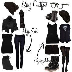 spy costume ideas women - Google Search
