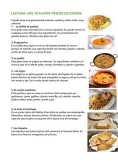 Reading:10 of the most popular Spanish dishes