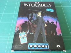 Los Intocables De Elliot Ness OCEAN Commodore 64 C64 Juego