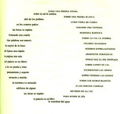 SEVERO SARDUY – POESIA VISUAL – CUBA