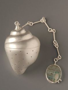 *Handcrafted - tea strainer by Yuyen Chang*