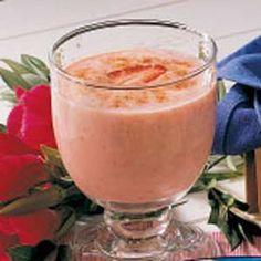 Peach Strawberry Smoothie