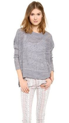 Free People. Light. Airy. Grey.