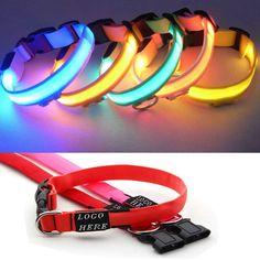 LED Night Flashing Dog / Pet Collars