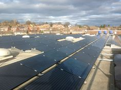 Solar PV Flintshire Council Solar Thermal Panels, Solar Panels, Heat Pump, Energy Technology, Heating Systems, Renewable Energy, Remote, Water, Outdoor Decor