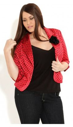 awesome jacket from City Chic