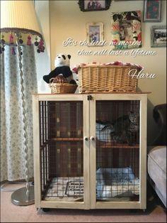 ハルさんの作品『自然塗料で猫のケージをDIY』 | セルフリフォーム.com