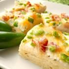 Jalapeno popper pizza. Sounds amazing, I have to try it!