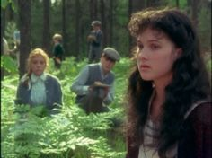 Friends ,side by side, yet far apart. Anne of Green Gables. With Gilbert loving Anne in the background.
