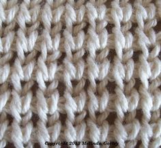 Tunisian Crochet-Shaker Stitch