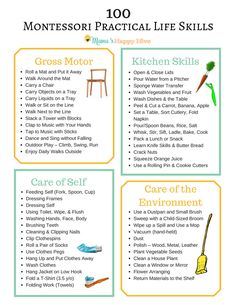 "The post Montessori Practical Life Skills & Mama& Happy Hive"" appeared first on Pink Unicorn Preschool Life Skills, Life Skills Lessons, Life Skills Activities, Life Skills Classroom, Teaching Life Skills, Preschool Learning, Life Skills Kids, Skills List, Classroom Ideas"